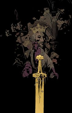 HELLBOY: THE WILD HUNT #6//Mike Mignola/M/ Comic Art Community GALLERY OF COMIC ART