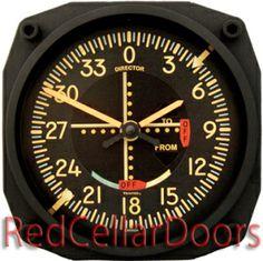 Vintage VOR clock