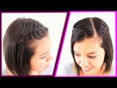 10 peinados fáciles para cabello corto o media melena | Patry Jordan - YouTube
