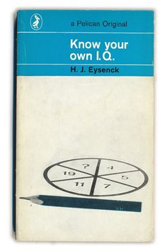 1969 Know your own I.Q. - H.J.Eysenck - Pelican Books