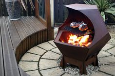 Nice Time Outdoor with Barrel Fire Pit : Barrel Fire Pit Designs. Barrel Fire Pit, Fire Pit Grill, Metal Fire Pit, Diy Fire Pit, Fire Pit Backyard, Fire Pits, Pit Bbq, Backyard Bbq, Backyard Ideas