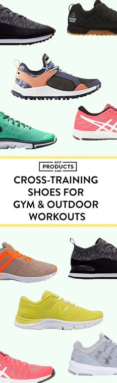 Versatility is key when it comes to cross-training, so you'll need a shoe that fits the part. The ideal pair should be able to handle running, jumping, lateral movement, and also allow you to feel grounded and stable if you're doing static exercises. These cross-training shoes run the gamut, so try a pair that vibes best with your workout regimen.