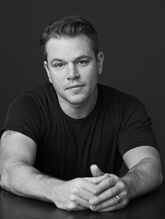 Matt Damon | by Sam Jones