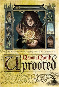 """Naomi Novik's """"Uprooted.""""  A dark forest, monstrous magical infections, a tall, dark sorcerer, a spunky heroine, Polish folktales, and a childhood friendship put to the ultimate test.  Who wouldn't want to be Baba Yaga?"""
