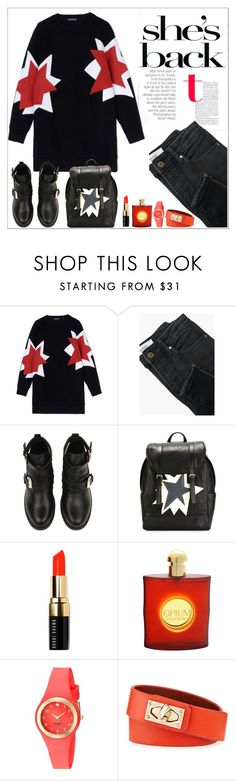 """31.10.2015"" by simona-altobelli ❤ liked on Polyvore featuring Neil Barrett, MANGO, Bobbi Brown Cosmetics, Yves Saint Laurent, Kate Spade, Givenchy, stars, MyStyle and Saturdaystyle"