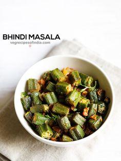 bhindi masala recipe with step by step photos. this bhindi masala is a easy & delicious semi dry curry. make restaurant type bhindi masala recipe at home. this bhindi masala is best served with soft phulkas or chapatis or paratha or naan