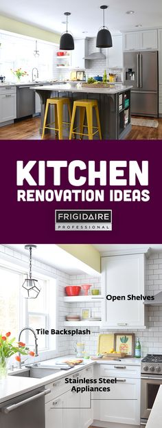 Looking to transform your kitchen? Here are some renovation ideas from Jenna Burger for creating a bright, open, and efficient kitchen with appliances from our Frigidaire Professional collection.