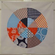 365 дней с арт-текстилем: Вшивание круга.