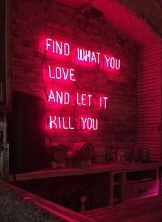 Neon sign aesthetic light red wall and best signs quotes ideas on with lights open Neon Quotes, Blur Quotes, Neon Words, Neon Aesthetic, Love Quotes For Her, Neon Lighting, Decir No, Life Quotes, Inspirational Quotes