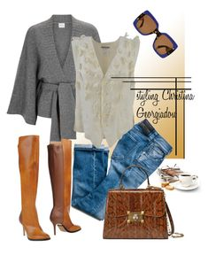 Untitled #231 by christina-geo on Polyvore featuring Le Kasha, Issey Miyake, Maison Margiela and Gucci