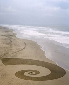 Jim Denevan. Sand art.