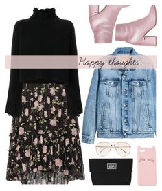 """""""Untitled #141"""" by kell-a ❤ liked on Polyvore featuring Ulla Johnson, Laurence Dacade, H&M, Golden Goose, Vans, Charlotte Russe and Linda Farrow"""