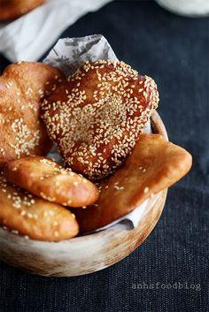 Fried Asian sweet donuts (Ham Chin Peng)