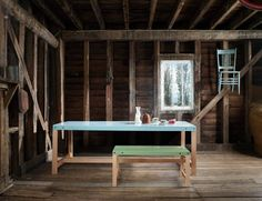 fit table and bench - matt prince designs