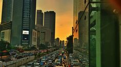 Jakarta Evening after rain