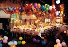 Image result for professional balloons table display