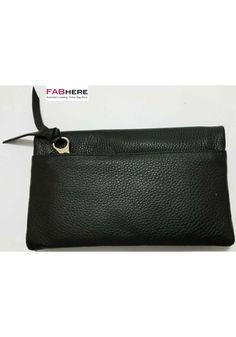 Pierre Cardin Womens RFID Proteced Italian Leather Handbag Like Purse Wallet - Black - PC10842