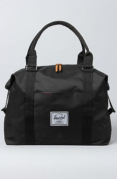 HERSCHEL SUPPLY The Strand Duffle Bag in Black, Save 20% off with Rep Code: PAMM6 #karmaloop #fashion
