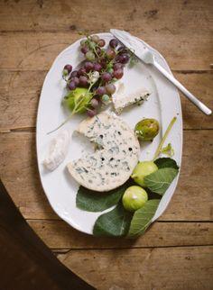 Pretty little cheese plate