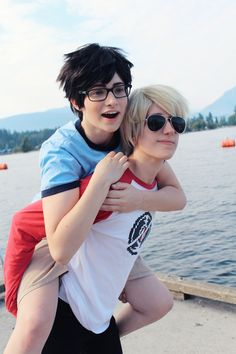 Perfect Johndave Cosplay (and they're both cute to)