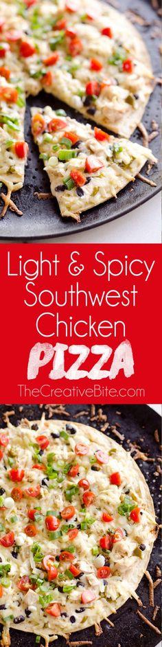 Chipotle Ranch Chicken Taco Flatbread Pizza   Flatbread Pizza ...