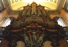 Órgão da Igreja de São Vicente de Fora, Lisboa