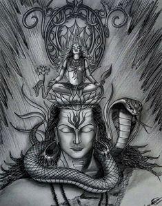 Shiva Parvati Images, Mahakal Shiva, Shiva Statue, Shiva Art, Hindu Art, Krishna, Angry Lord Shiva, Lord Shiva Pics, Lord Shiva Hd Images