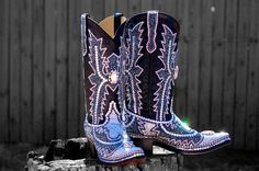 Bling swarovski cowgirl boots by Paradise boutique Jacqi Bling