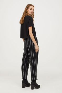 c9d2f4cbc83f Wide trousers Model Wide Trousers