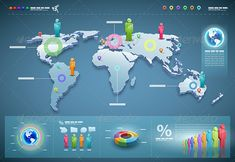 World Infographics  #GraphicRiver         3d vector world map illustration and infographics design template.     Created: 2May13 GraphicsFilesIncluded: JPGImage #VectorEPS Layered: Yes MinimumAdobeCSVersion: CS Tags: 3d #businessman #chart #collection #communication #connection #conversation #demographics #design #elements #globe #graph #icon #infographics #man #map #network #people #pie #presentation #report #set #shape #statistic #symbol #team #template #vector #woman #world