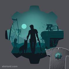 Alone #albertocubatas #fallout #gaming #silhouette #videogame