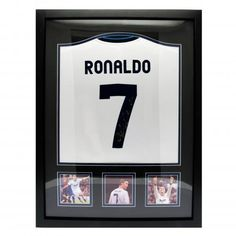 358446b43af Real Madrid F.C. Ronaldo Signed Shirt (Framed)