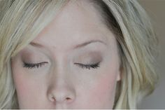 The Small Things Blog: Soft and Natural Eye Makeup Tutorial
