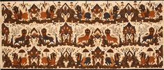 HLATC #1990.04.013, batik kain, Cirebon 9or Tjirebon), Java, Indonesia, 20th c., gift of Dr. and Mrs. Ira Baldwin