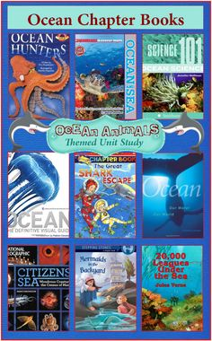 Ocean Chapter Books {Ocean Animals Unit Study}