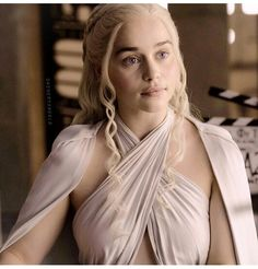 Emilia Clarke is, Daenerys in Game of Thrones. Soon to be Sarah Connor in Terminator in May 2015