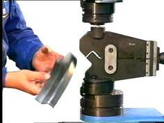 DRACO EcO-Bender3 Panelfabrication - How to fabricate a Standing Seam Panel - YouTube