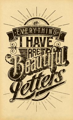 by Peter Bielous #type #typography #tipografia