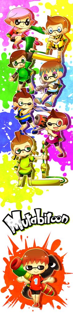 Splatoon seems to be developing quite the fan art following already.... - Page 30 - NeoGAF