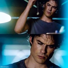 "#TVD 6x02 ""Yellow Ledbetter"" - Damon remembering the time he gave the necklace to Elena."