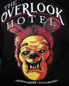 THE OVERLOOK HOTEL T SHIRT XL SHINING INSPIRED HORROR MONSTER ART SCHERES