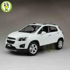 66.31$  Buy here - http://alimkt.worldwells.pw/go.php?t=32670357992 - 1:18 US GM Chevrolet TRAX 2013 Mini Suv Diecast Car Suv Model White 66.31$