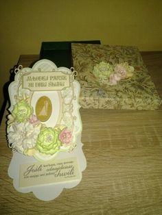 Wedding card with craftfun