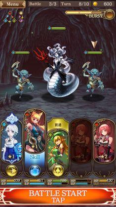シリコンスタジオ、王道ファンタジーRPG「グランスフィア~宿命の王女と竜の騎士~」を発表!Android向けクローズドβテストもスタート