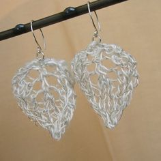 Ethereal Wire Lace Earrings