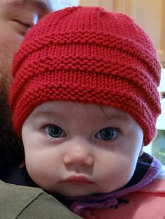 Ravelry: beanie pattern by Lisa Seifert :: DoleValleyGirlKnits . Ravelry: beanie pattern by Lisa Seifert :: DoleValleyGirlKnits Ravelry: . Baby Hat Knitting Patterns Free, Baby Cardigan Knitting Pattern, Baby Hat Patterns, Baby Hats Knitting, Beanie Pattern, Knitting For Kids, Knitted Baby Beanies, Knitted Baby Clothes, Baby Sweaters