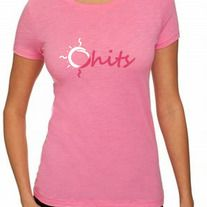 Ohits original logo tee shirt. Light weight, 100% cotton.