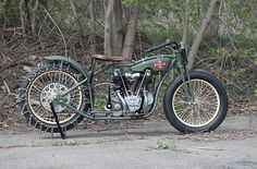 "1928 Excelsior hill climber ""Big Bertha"" 
