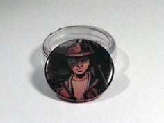 "Comic Book 1.5"" Button// Walking Dead// Carl Grimes, $1.00"