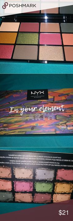 NIB NYX In Your Element Palette EARTH Brand new and only opened for photo NYX Makeup Eyeshadow